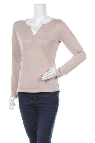 Дамска блуза Colours Of The World, Размер M, Цвят Бежов, 63% полиестер, 37% памук, Цена 5,04лв.