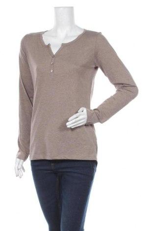 Дамска блуза Colours Of The World, Размер M, Цвят Бежов, 65% полиестер, 35% памук, Цена 5,04лв.