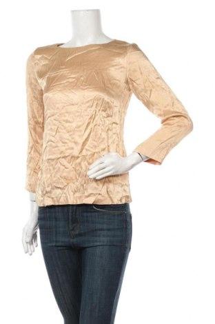 Дамска блуза David Lawrence, Размер M, Цвят Бежов, Вискоза, Цена 68,04лв.
