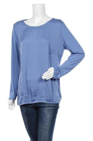 Дамска блуза Essentials by Tchibo, Размер XL, Цвят Син, Полиестер, Цена 14,18лв.