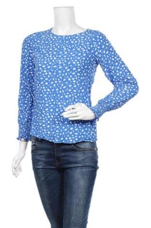 Дамска блуза Essentials by Tchibo, Размер S, Цвят Син, Вискоза, Цена 10,71лв.