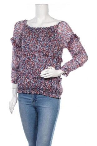 Дамска блуза Gas, Размер S, Цвят Многоцветен, Коприна, Цена 28,80лв.