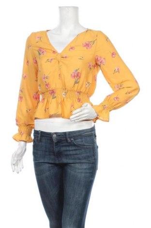 Γυναικεία μπλούζα H&M Divided, Μέγεθος XS, Χρώμα Κίτρινο, Πολυεστέρας, Τιμή 9,94€