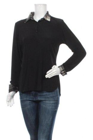 Дамска блуза Lavelle, Размер S, Цвят Черен, 97% полиестер, 3% еластан, Цена 14,18лв.