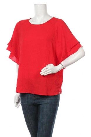 Дамска блуза Liz Jordan, Размер XL, Цвят Червен, 97% полиестер, 3% еластан, Цена 5,67лв.