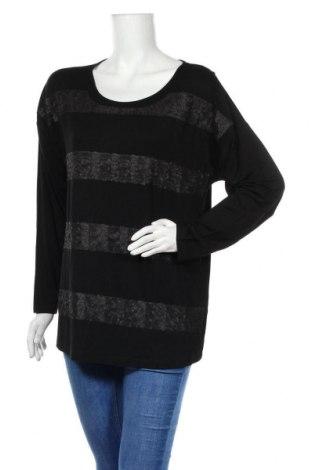 Дамска блуза Madeleine, Размер XL, Цвят Черен, 95% вискоза, 5% еластан, Цена 30,35лв.