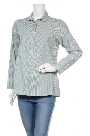 Дамска блуза Mads Norgaard, Размер S, Цвят Зелен, Памук, Цена 23,40лв.
