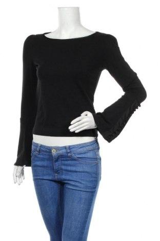 Дамска блуза Max&Co., Размер S, Цвят Черен, 92% памук, 8% еластан, Цена 47,25лв.