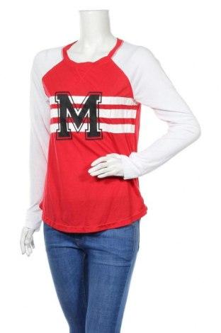 Дамска блуза Miss Shop, Размер S, Цвят Червен, 65% полиестер, 35% вискоза, Цена 15,12лв.