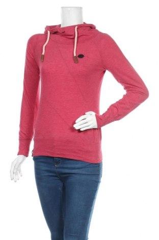 Дамска блуза Naketano, Размер S, Цвят Червен, 50% памук, 50% полиестер, Цена 23,94лв.