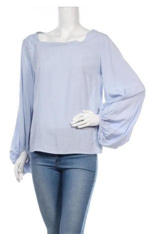 Дамска блуза Object, Размер M, Цвят Син, Вискоза, Цена 18,72лв.