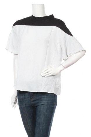 Дамска блуза SHEIN, Размер L, Цвят Бял, Полиестер, Цена 9,45лв.