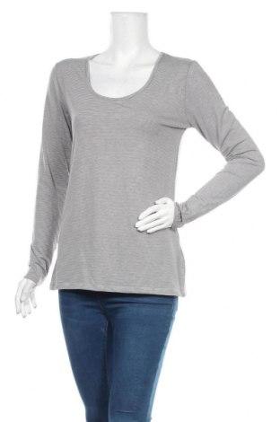 Дамска блуза Seasons, Размер M, Цвят Сив, 60% полиестер, 35% вискоза, 5% еластан, Цена 5,53лв.