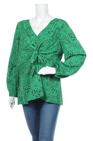 Дамска блуза Simply Be, Размер XXL, Цвят Зелен, Полиестер, Цена 15,96лв.