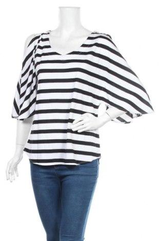 Дамска блуза Sussan, Размер XS, Цвят Черен, 66% модал, 34% полиестер, Цена 33,92лв.