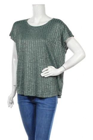Дамска блуза Sussan, Размер XL, Цвят Зелен, 58% полиестер, 37% вискоза, 5% еластан, Цена 16,96лв.