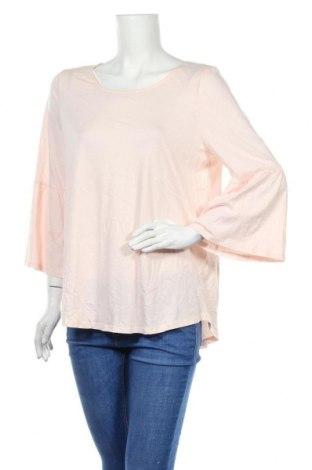 Дамска блуза Sussan, Размер L, Цвят Розов, 50% памук, 50% вискоза, Цена 17,96лв.