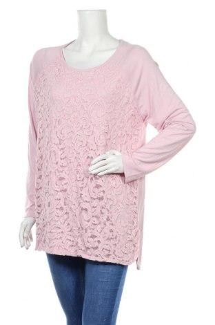 Γυναικεία μπλούζα Suzanne Grae, Μέγεθος L, Χρώμα Ρόζ , Πολυεστέρας, βισκόζη, Τιμή 4,32€