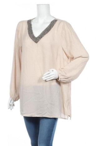 Γυναικεία μπλούζα Suzanne Grae, Μέγεθος XL, Χρώμα Εκρού, Πολυεστέρας, Τιμή 4,77€