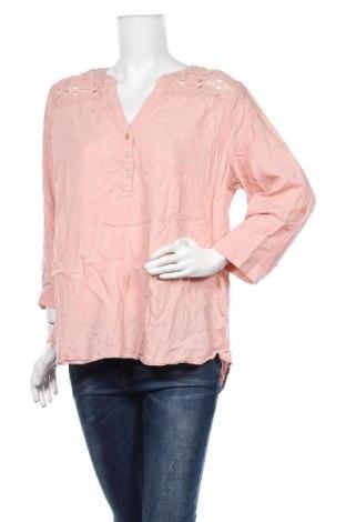 Γυναικεία μπλούζα Suzanne Grae, Μέγεθος XL, Χρώμα Ρόζ , Lyocell, Τιμή 11,69€