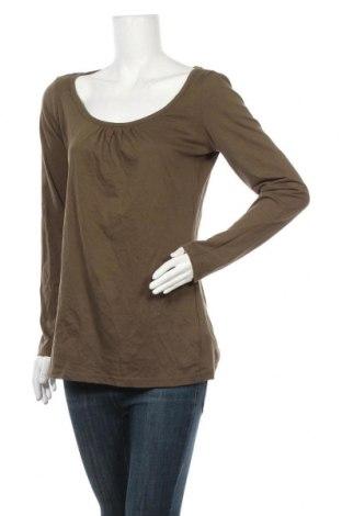 Дамска блуза Takko Fashion, Размер XL, Цвят Зелен, Памук, Цена 5,54лв.