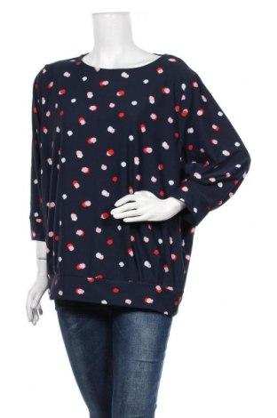 Дамска блуза Vrs Woman, Размер XXL, Цвят Син, 95% полиестер, 5% еластан, Цена 17,96лв.
