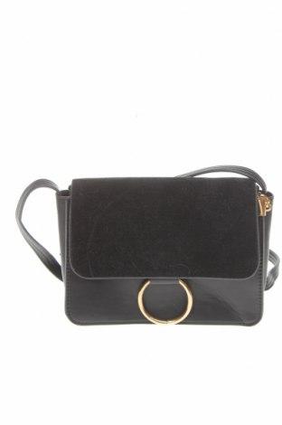 Γυναικεία τσάντα, Χρώμα Μαύρο, Δερματίνη, κλωστοϋφαντουργικά προϊόντα, Τιμή 14,55€