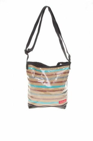 Дамска чанта, Цвят Многоцветен, Еко кожа, полиуретан, текстил, Цена 23,52лв.