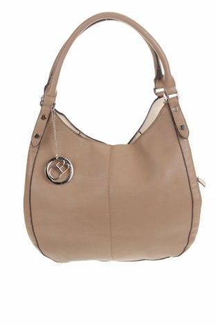 Γυναικεία τσάντα, Χρώμα Καφέ, Δερματίνη, Τιμή 12,25€