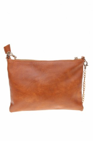 Дамска чанта Anko, Цвят Кафяв, Еко кожа, Цена 22,68лв.