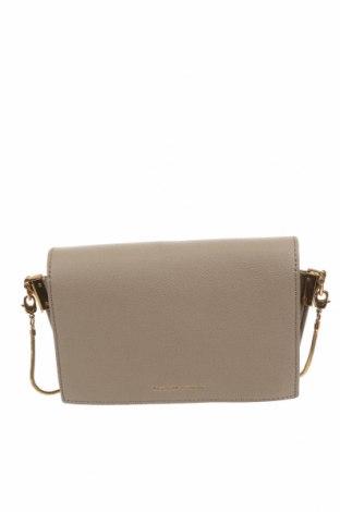 Дамска чанта Charles & Keith, Цвят Бежов, Еко кожа, Цена 31,92лв.