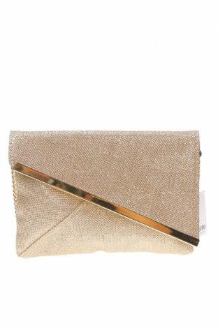 Дамска чанта Colette By Colette Hayman, Цвят Златист, Текстил, Цена 37,91лв.