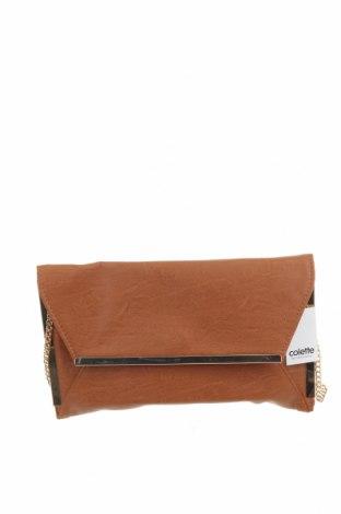 Дамска чанта Colette By Colette Hayman, Цвят Кафяв, Еко кожа, Цена 13,67лв.