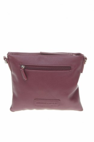 Γυναικεία τσάντα Cosgrove and Beasley, Χρώμα Βιολετί, Δερματίνη, Τιμή 27,02€