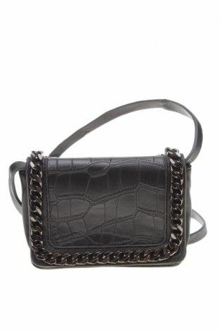 Дамска чанта French Connection, Цвят Черен, Еко кожа, Цена 50,40лв.