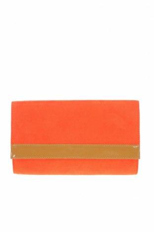 Дамска чанта H&M, Цвят Оранжев, Текстил, Цена 15,30лв.