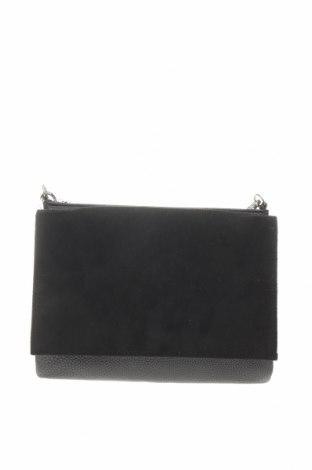 Дамска чанта H&M, Цвят Черен, Еко кожа, текстил, Цена 18,70лв.