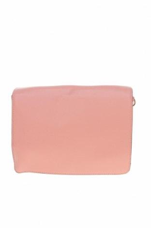 Дамска чанта Miss Shop, Цвят Розов, Еко кожа, Цена 11,76лв.