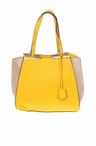 Дамска чанта Novo, Цвят Жълт, Еко кожа, Цена 44,10лв.