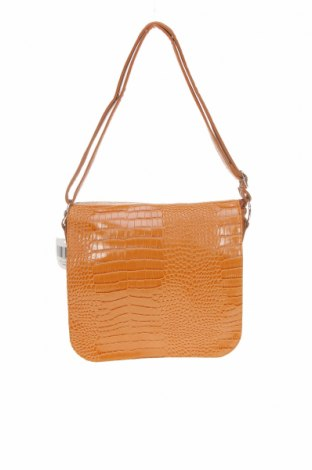 Γυναικεία τσάντα Voi&Noi, Χρώμα Καφέ, Δερματίνη, Τιμή 25,46€