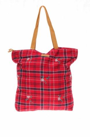 Дамска чанта Yerse, Цвят Червен, Текстил, Цена 31,80лв.