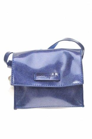 Дамска чанта Zara, Цвят Син, Полиуретан, Цена 35,28лв.