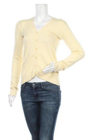 Дамска жилетка Chicoree, Размер S, Цвят Жълт, 80% вискоза, 20% полиамид, Цена 6,56лв.