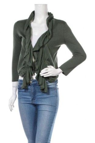 Дамска жилетка INC International Concepts, Размер S, Цвят Зелен, Памук, Цена 16,32лв.