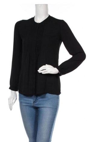 Γυναικείο πουκάμισο Banana Republic, Μέγεθος XS, Χρώμα Μαύρο, Τιμή 12,53€