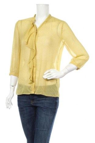 Γυναικείο πουκάμισο Banana Republic, Μέγεθος S, Χρώμα Κίτρινο, Πολυεστέρας, Τιμή 23,45€