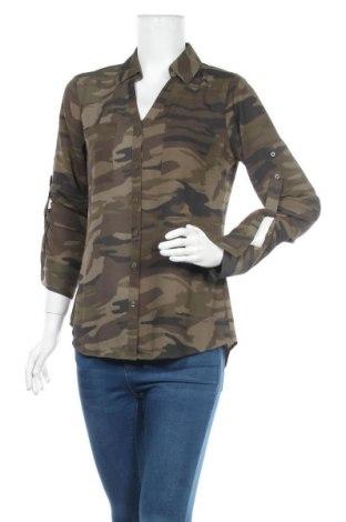 Дамска риза Express, Размер M, Цвят Зелен, Полиестер, Цена 6,05лв.