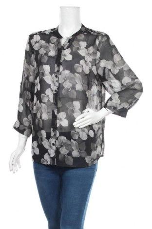 Дамска риза Liz Jordan, Размер XL, Цвят Сив, 100% полиестер, Цена 5,36лв.