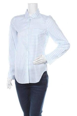 Дамска риза Madeleine, Размер S, Цвят Син, Памук, Цена 31,92лв.