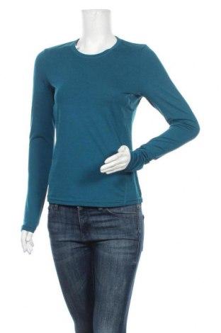 Дамска спортна блуза Active By Tchibo, Размер S, Цвят Син, 88% полиестер, 12% еластан, Цена 5,88лв.